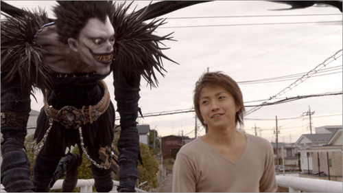 Death Note The Movie images ryuk and light wallpaper and background photos