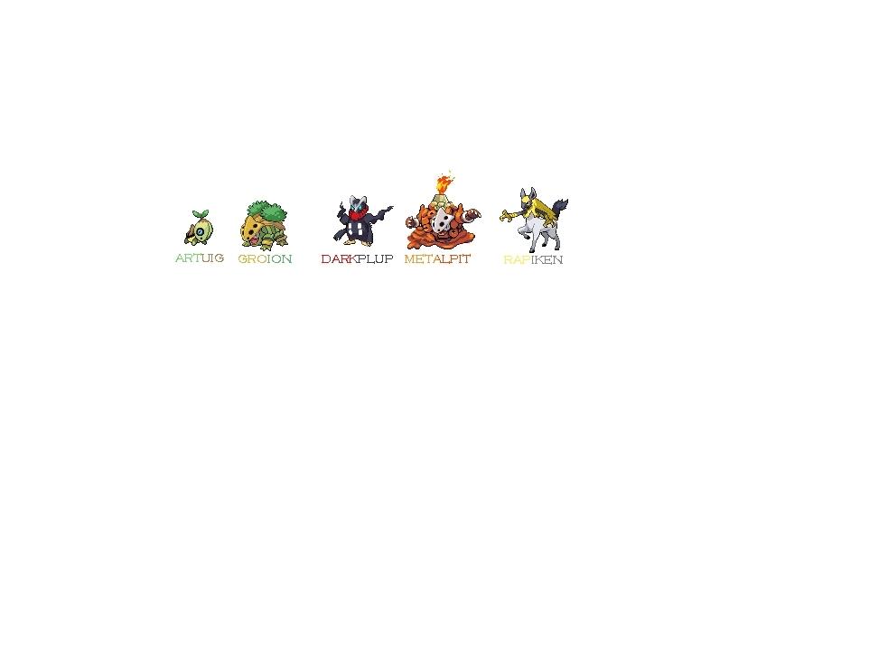pokemon sprites platinum. used Pokemon+sprites+all