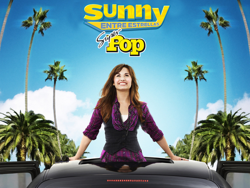 Sonny With A Chance achtergrond probably containing an automobile entitled sanny entre estrellas