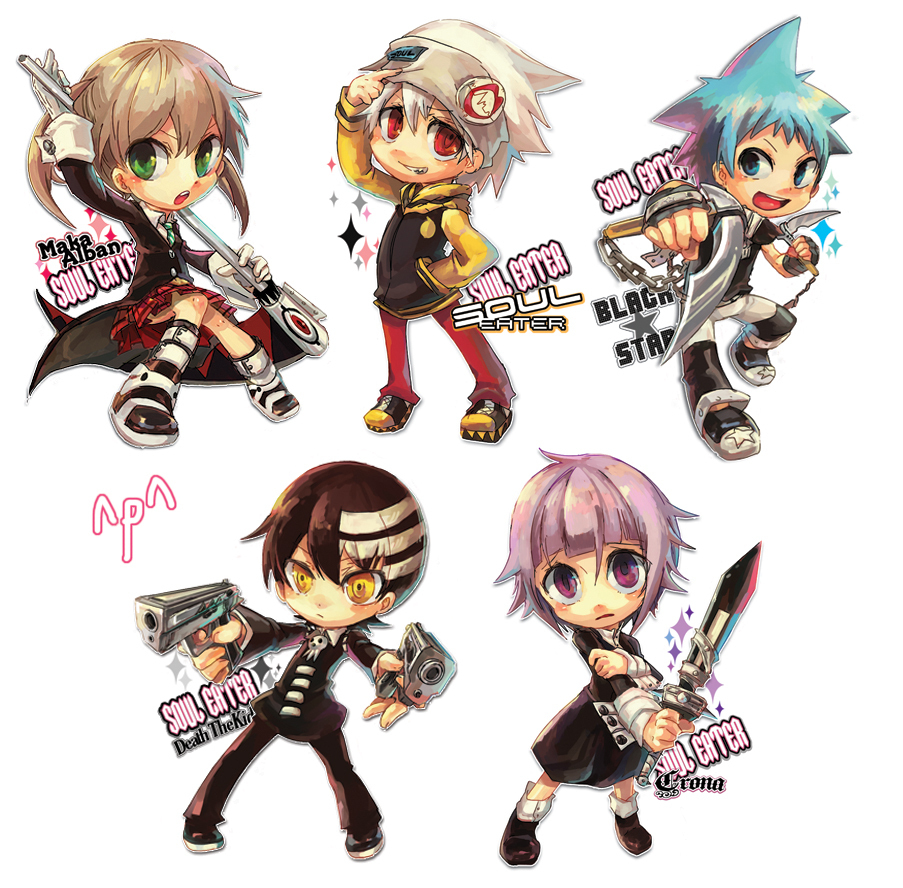 soul chibi's - Soul Eater Photo (8968406) - Fanpop