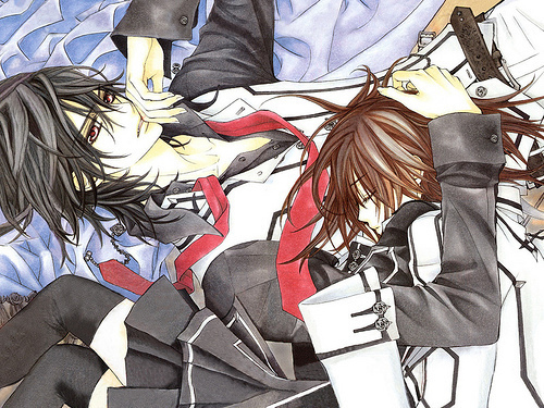 Yuuki Cross/Kuran wallpaper possibly with animê titled vampire knight pic