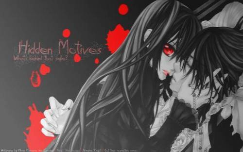 Yuuki Cross/Kuran wallpaper entitled vampire knight pic