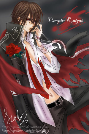 Yuuki Cross/Kuran wallpaper titled vampire knight pic