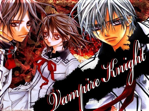Yuuki Cross/Kuran wallpaper possibly with animê entitled vampire knight pic