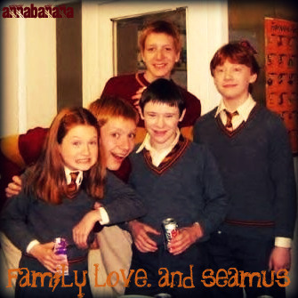 weasleys. and seamus
