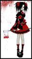 yuna uchiha akatsuki lolita cos