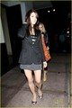 Ashley Greene is a cheery mood as she leaves Beso restaurant  after dining with her family   - twilight-series photo
