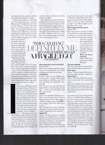 Harpers Bazaar Scans with Robert Pattinson and Kristen Stewart