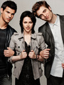 'New Moon': New Portraits of Rob, Taylor, and Kristen - twilight-series photo