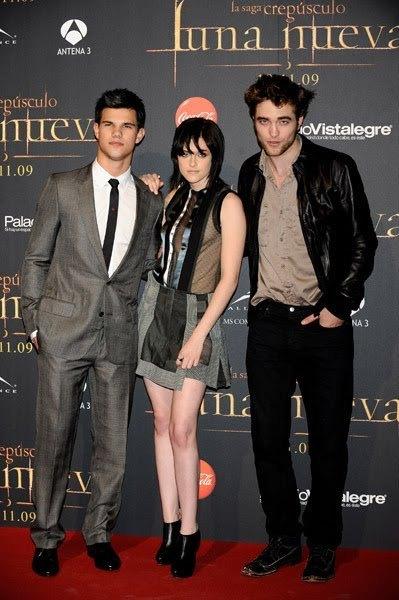 Pictures From Madrid Event With Robert Pattinson, Kristen Stewart, Taylor Lautner
