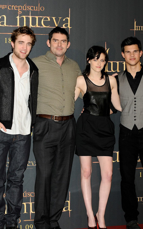 Pictures From Madrid Event With Robert Pattinson, Kristen Stewart, Taylor Lautner
