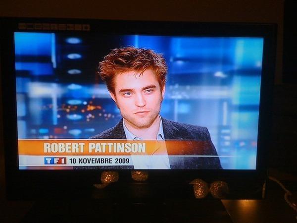 Robert Pattinson- French TV Pics