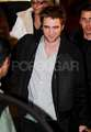 Robert Pattinson Leaves Hotel Crillon - LONDON  - twilight-series photo