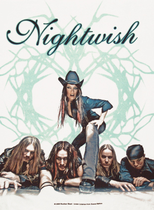 Nightwish wallpaper probably with a sign and anime titled <nightwish>