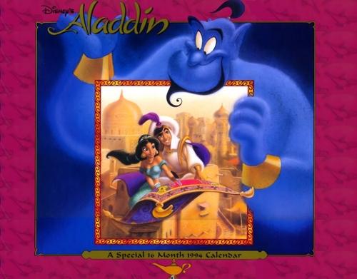 Aladdin và cây đèn thần & hoa nhài