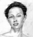 Ashley Judd in Pencils - ashley-judd fan art