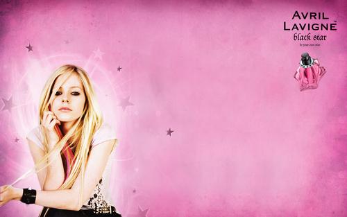 Avril Lavigne: Black ster