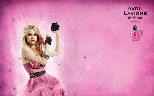 Avril Lavigne: Black তারকা