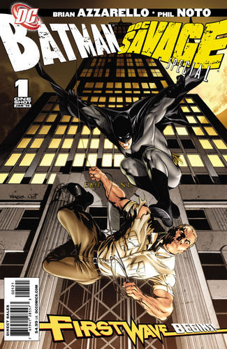 Batman VS Doc Savage special