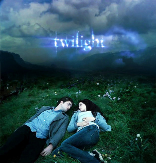 Bella & Edward Twilight fan poster