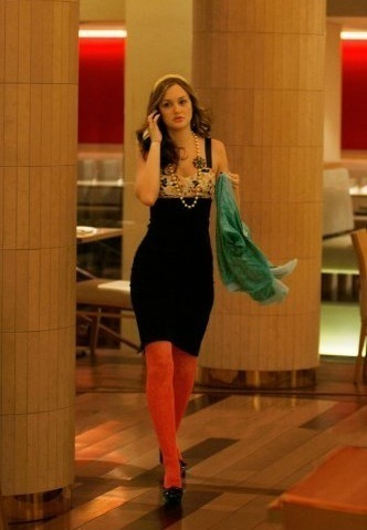 Blair Waldorf Fashion wallpaper possibly with tights, a playsuit, and a living room titled Blair Waldorf style