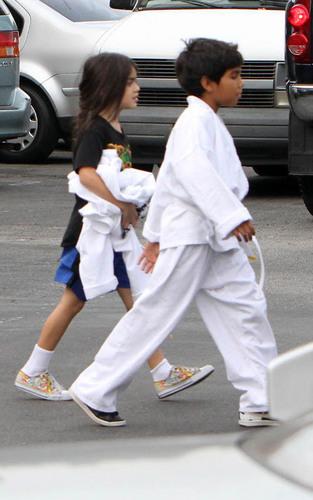 Blanket karate
