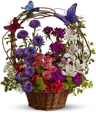 Butterfly Basket,For Susie !