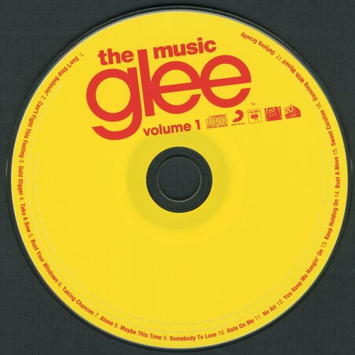 Glee wallpaper with a turntable titled CD Art