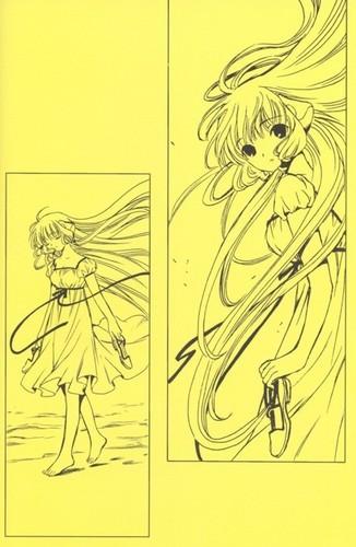 Manga Hintergrund probably containing Anime called Chobits