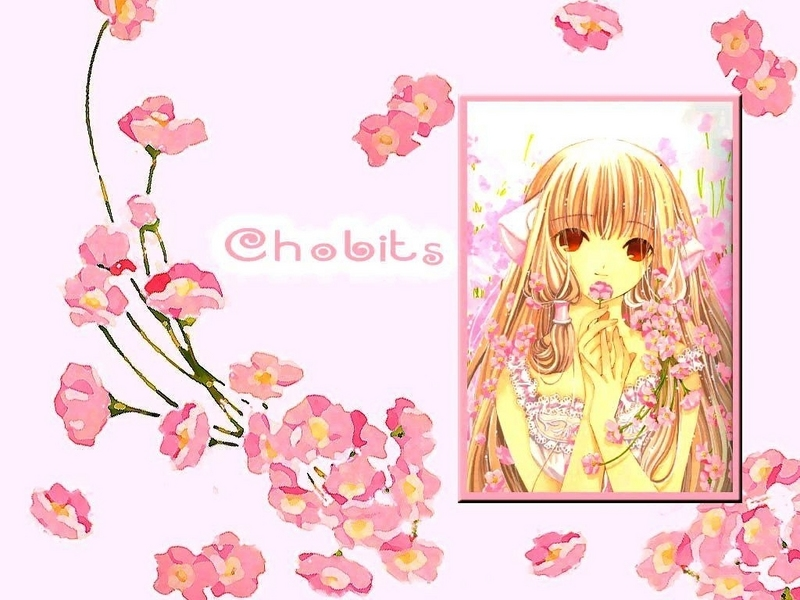 manga wallpaper. Chobits - Manga Wallpaper