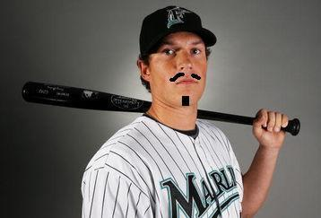 Chris Coghlan with facial hair