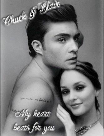Chuck & Blair hart-, hart beats
