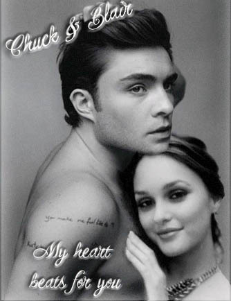 Chuck & Blair my tim, trái tim beats 4U