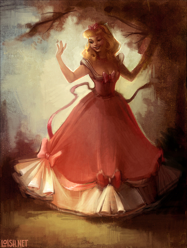 Disney Princess wallpaper probably containing a hoopskirt, an overskirt, and a polonaise entitled Cinderella