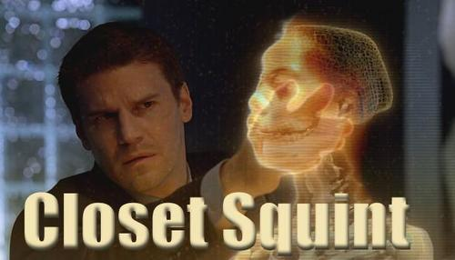 Seeley Booth wallpaper called Closet Squint!
