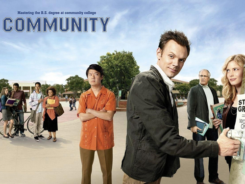Community wallpaper with a business suit called Community Wallpaper