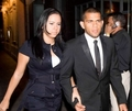 Dani Alves &amp; wife - wags photo