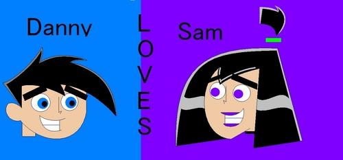 Danny loves Sam