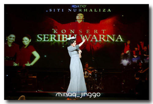 DATO SITI NURHALIZA wallpaper possibly with a concert, a sign, and a wicket called Dato Siti Nurhaliza