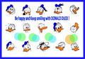 Donald's faces - donald-duck photo