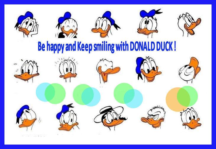 Donald's faces