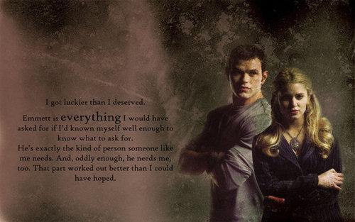 Emmett và Rosalie