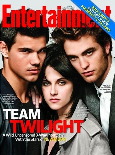 Entertainment magazine cover TKR