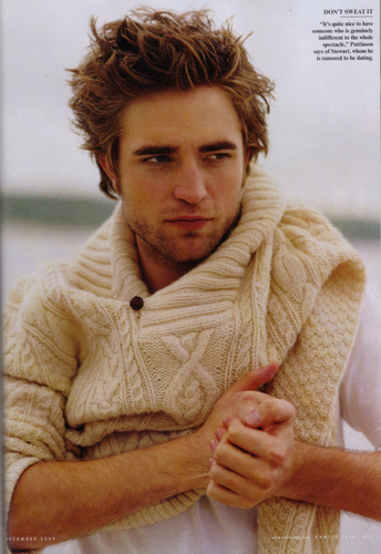 FULL Vanity Fair Robert Pattinson DEC issue