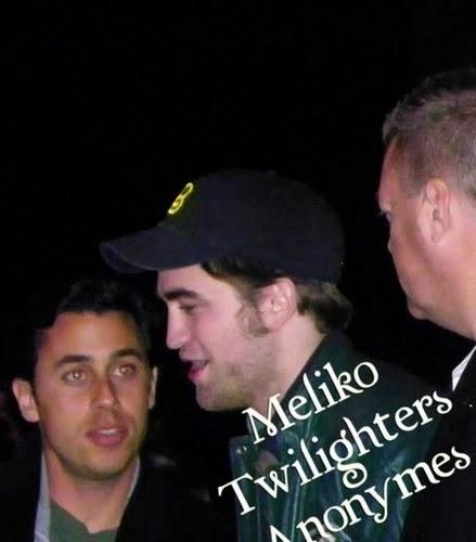 fan Pictures from Paris-Robert Pattinson