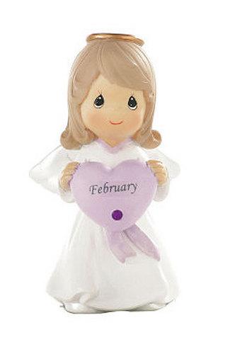 February Angel Birthstone