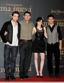 First pics from the Madrid Press Conference  - twilight-series photo