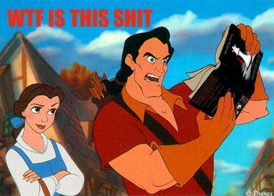 Gastons view of Twilight