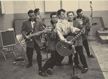 Rock'n'Roll Remembered वॉलपेपर called Gene Vincent & The Bluecaps