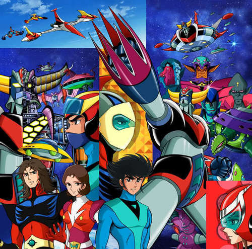 Grendizer Wand Paper